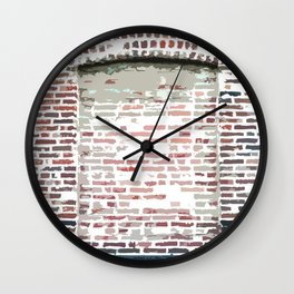 Brick Art Wall Clock