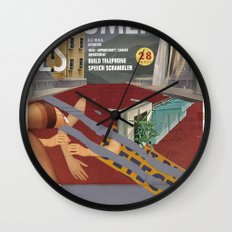 Vans and Color Magazine Customs Wall Clock