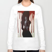 skyfall Long Sleeve T-shirts featuring Skyfall by Caroline Ward