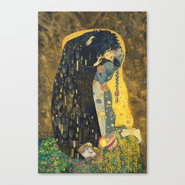 The Kiss -- Like Starlight Canvas Print
