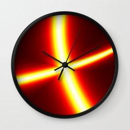 Disco light Wall Clock