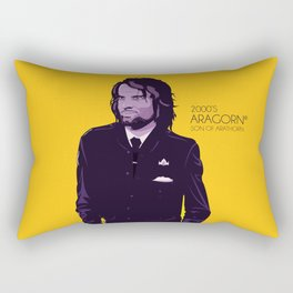 2000's Aragorn Rectangular Pillow