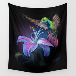 The Stargazer and The Hummingbird Wall Tapestry
