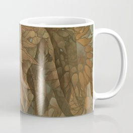 Horses and Sunflowers Coffee Mug