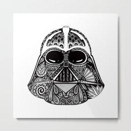 Dark Vador Metal Print