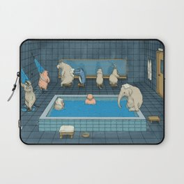The Bathers Laptop Sleeve