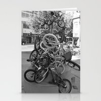 bikes Stationery Cards featuring Bikes by DarkMikeRys