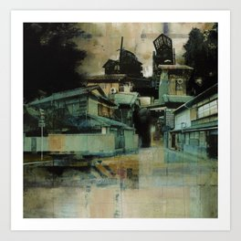 Groves of Arashiyama Art Print