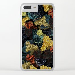 Delicious Harvest Clear iPhone Case