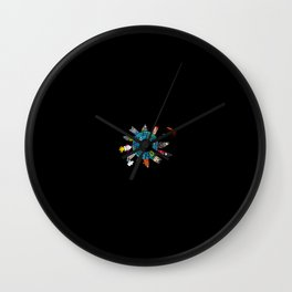 Love the Earth not only on Earth day ! Wall Clock