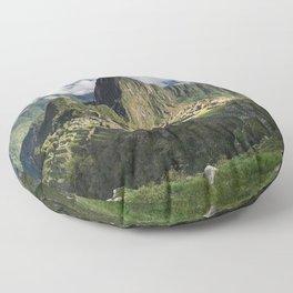 Machu Picchu, Peru Floor Pillow