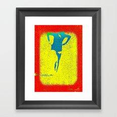Woman Emerging (i) Framed Art Print