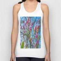 magnolia Tank Tops featuring Magnolia by Ricarda Balistreri