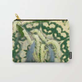 Wattle on green and yellow kaleidoscope Carry-All Pouch