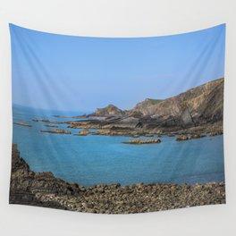 Devon Coastline. Wall Tapestry