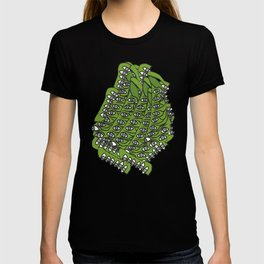 Freddie Eyeballs Avocado Green T-shirt