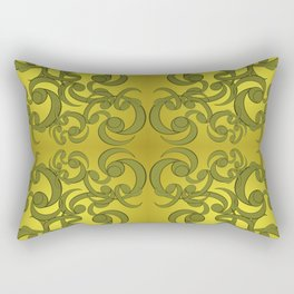 Formal Scrolls Rectangular Pillow