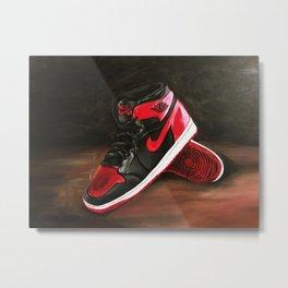Air Jordans Metal Print