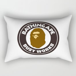 Bathing Ape BIG BUSY WORKS Rectangular Pillow