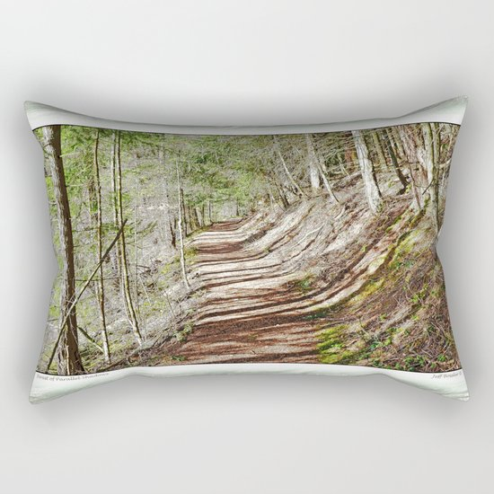 FOREST OF PARALLEL SHADOWS Rectangular Pillow
