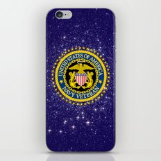 US Navy Veteran iPhone Skin
