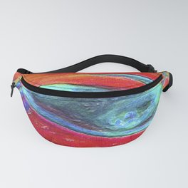 Circle Smile Fanny Pack
