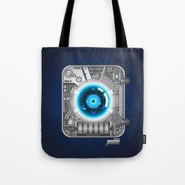 Powered by Atom_ver.01 Tote Bag