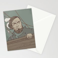 Ahab and the Whale Stationery Cards