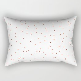 ADALYN ((cherry red)) Rectangular Pillow