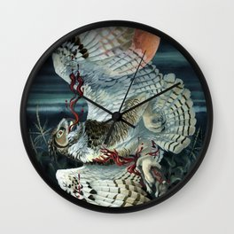 Hemorrhage Wall Clock
