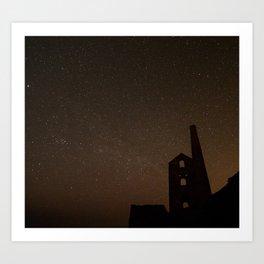 Stry Cornish night 1 Art Print