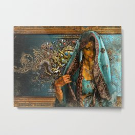 Priya  Metal Print
