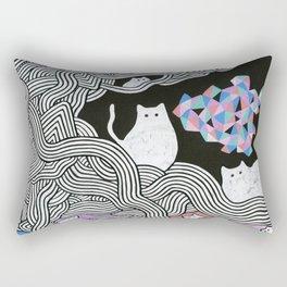 Magic Cats I Rectangular Pillow