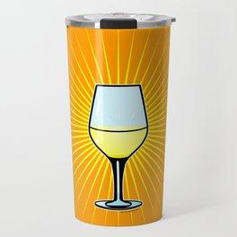 White Wine Fendant Travel Mug