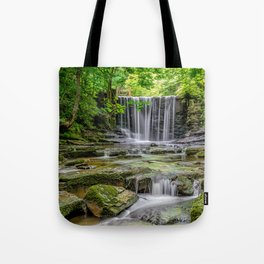 Clywedog Waterfall Tote Bag