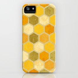 Comb on Bee happy iPhone Case