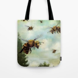 Crown of Bees Tote Bag