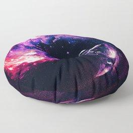 Space Surfing Floor Pillow