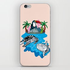 Tropical island  iPhone & iPod Skin