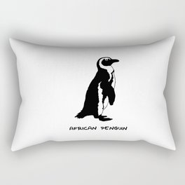 African Penguin Rectangular Pillow