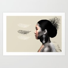 Fear of Falling Art Print