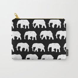 White Elephants on Parade Carry-All Pouch
