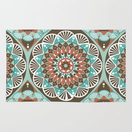 Toned Variety Pattern Rug