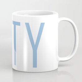 City Powder Blue Coffee Mug