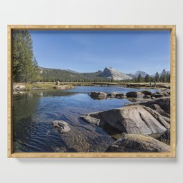 Tuolumne River and Meadows, No. 1 Serving Tray