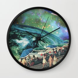 Leisurely Expedition Wall Clock
