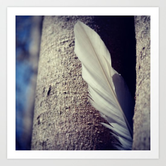 Tree Feather Art Print