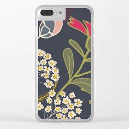 Meadow Dim Clear iPhone Case