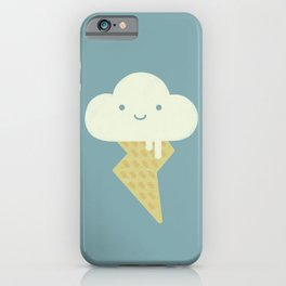 Stormy and Sweet iPhone Case