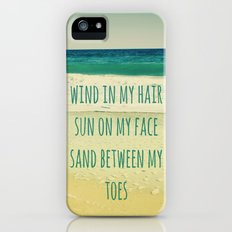 Wind In My Hair II Slim Case iPhone (5, 5s)